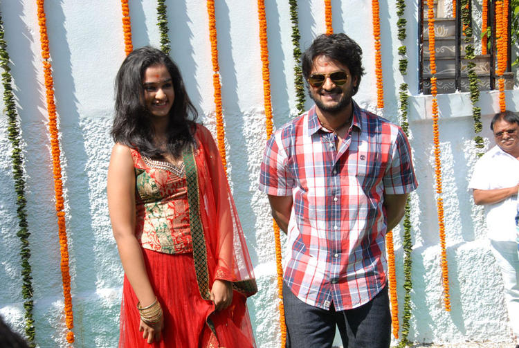 Sudheer And Nandita Spotted At Premakatha Chitram Opening