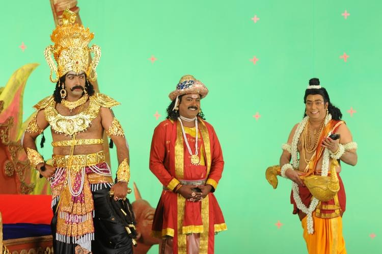 Taraka And Rajeev A Still From Nenu Chala Worst Movie