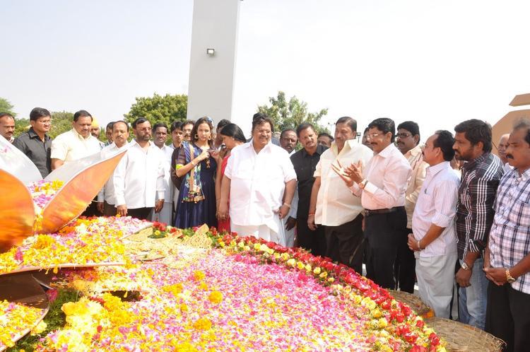 Dasari Narayana Spotted And Lakshmi At Dasari Padma Memorial Event