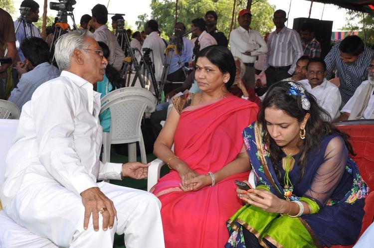 Lakshmi Photo Clicked By Camera At Dasari Padma Memorial Event