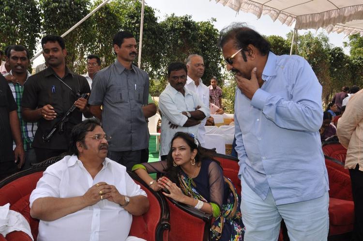 Mohanbabu,Dasari Narayana  And Lakshmi At Dasari Padma Memorial Event