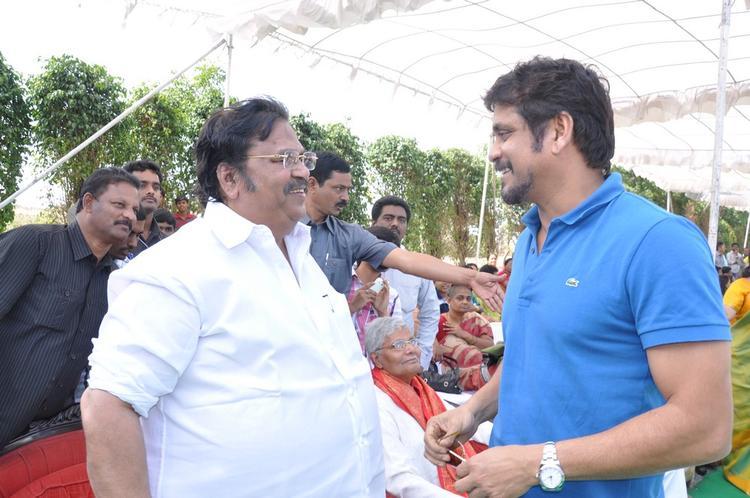 Nagarjun And Dasari Narayana At Dasari Padma Memorial Event