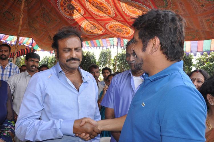 Nagarjun And Mohanbabu At Dasari Padma Memorial Event