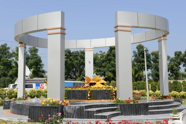 The Pandal Of Dasari Padma Memorial Photo