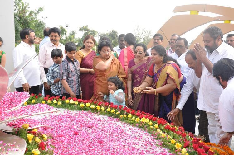Tollywood Celebs Photo Clicked At Dasari Padma Memorial Event