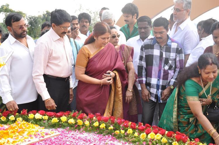 Tollywood Celebs Photo At Dasari Padma Memorial Event