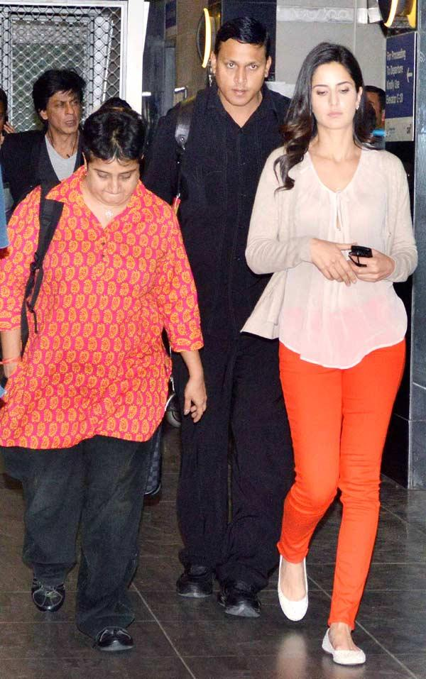 Katrina Kaif Spotted At Mumbai Airport