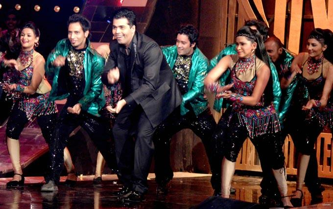 Karan Signature Steps On The Sets Of India's Got Talent Grand Finale