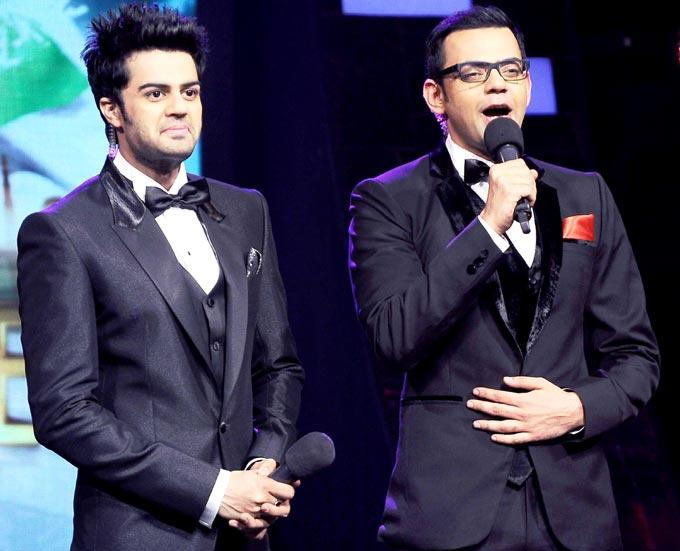 Manish And Cyrus Sizzling And Dashing Look In Suit  On The Sets Of India's Got Talent Grand Finale