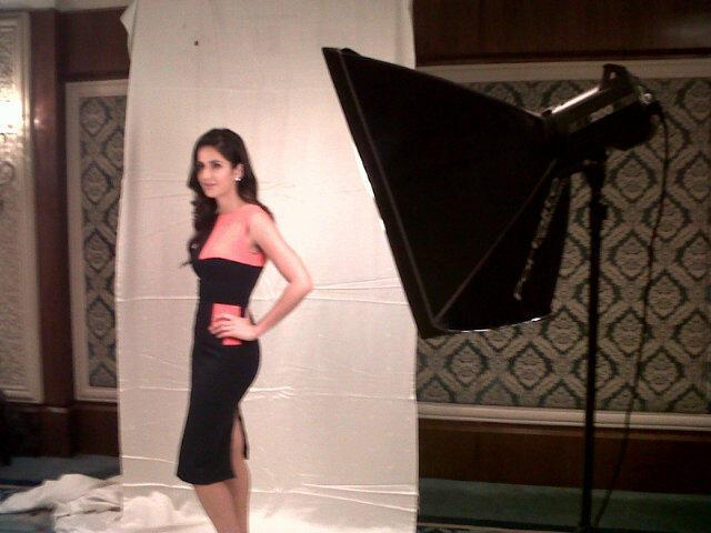 Katrina Kaif  Poses For Camera At Press Conference At HT
