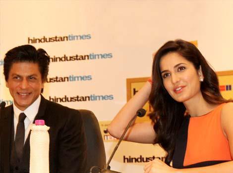 Shahrukh And Katrina Attend The Leadership Summit Of HT