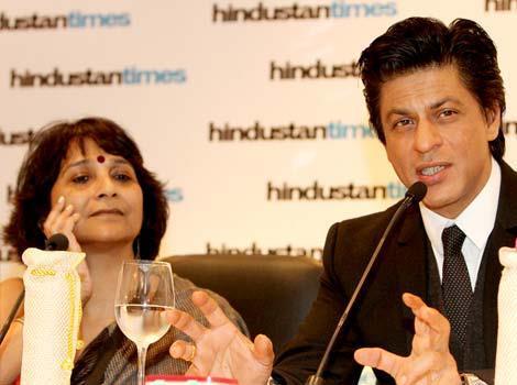 Shahrukh At Hindustan Times Leadership Summit