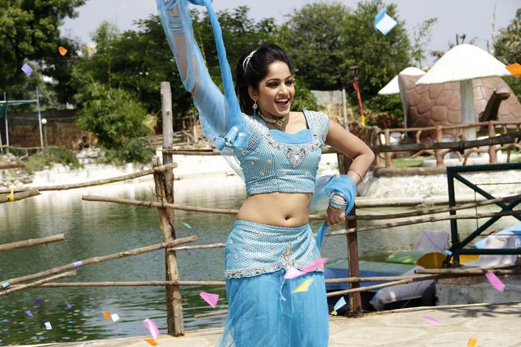 Madhavi Hot And Latest Dancing Still From Chudalani Cheppalani Movie