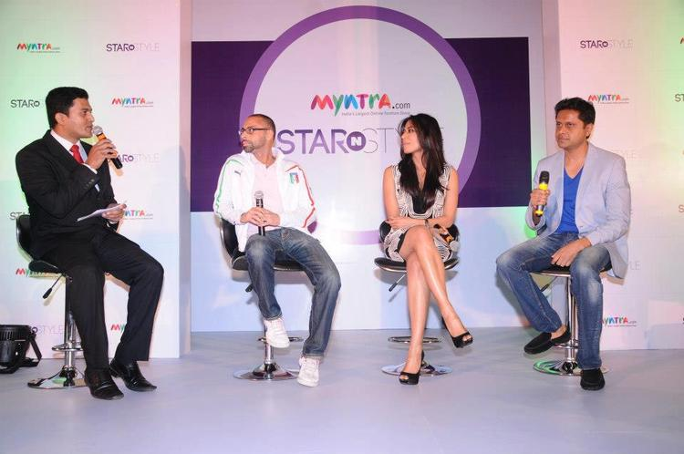 Chitrangda And Mukesh With Friends At The Launch Of Star N Style 2nd Edition