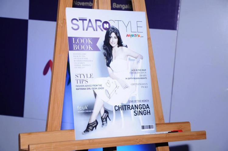 Chitrangda On The Cover Page Of Star N Style