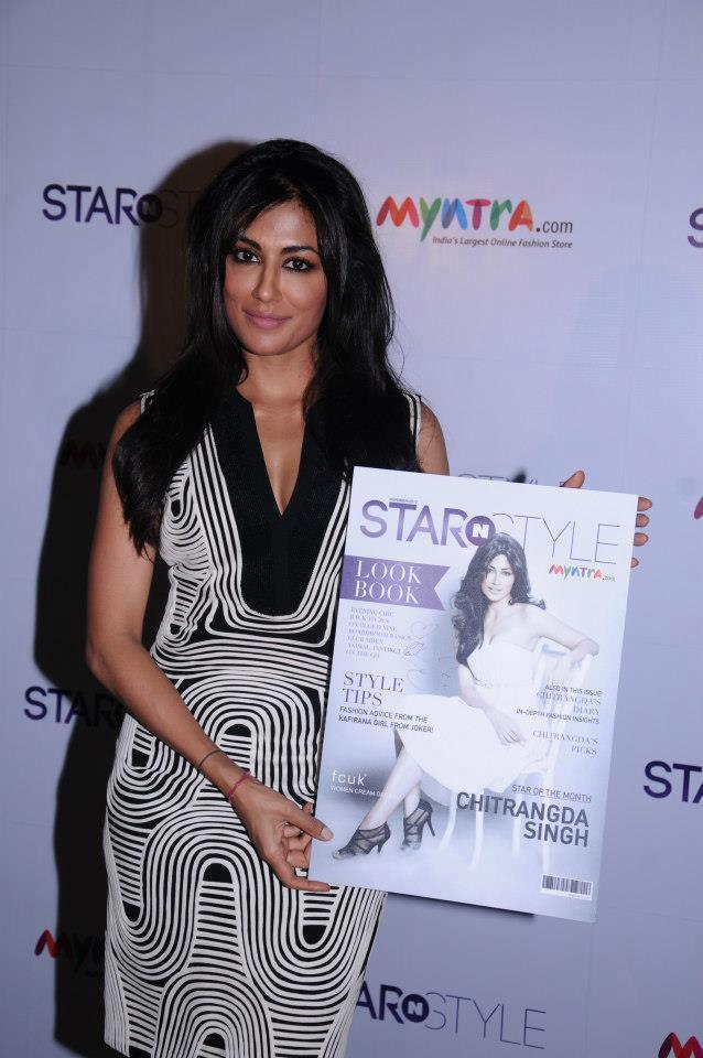 Chitrangda Launched Star N Style 2nd Edition At ITC Windsor Bangalore Hotel