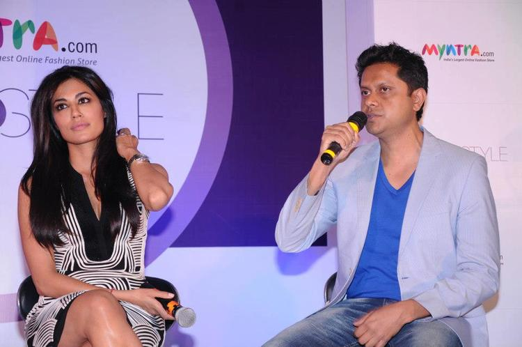 Chitrangda With Mukesh At The Launch Of Star N Style 2nd Edition