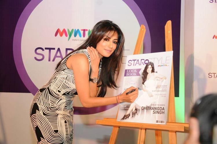 Chitrangda Photo Clicked While Sign On Cover Page Of Star N Style