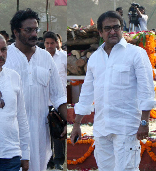 Mahesh Arrived At The Funeral Of Shri Balasaheb Keshav Thackeray