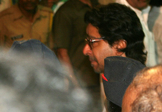 Raj Snapped At The Funeral Of Shri Balasaheb Keshav Thackeray