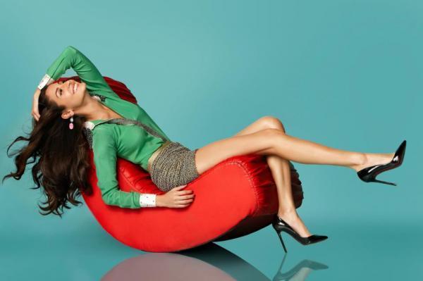 Anushka Hot Photo Shoot In Mini Dress For BrunchQ Magazine November January 2013 Edition
