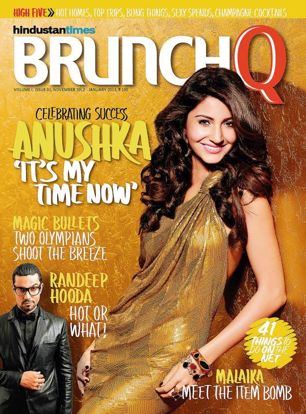 Anushka Sharma Looking Hot On The Cover Of BrunchQ