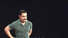 Amir Khan Looking Marvelous In Mustache