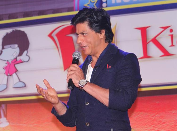Shahrukh Khan Attend The Press Conference For KidZania