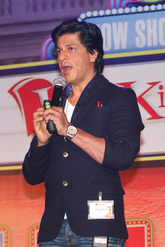 Shahrukh Khan At A Press Conference For KidZania