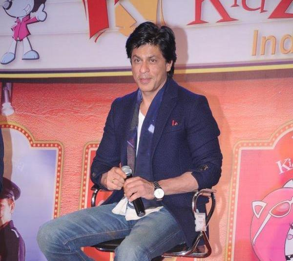 Shahrukh Khan Spotted At The Launch Of KidZania