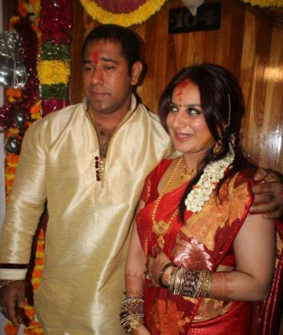 Pooja And Anand Dazzling Look Still On Their Engagement Function