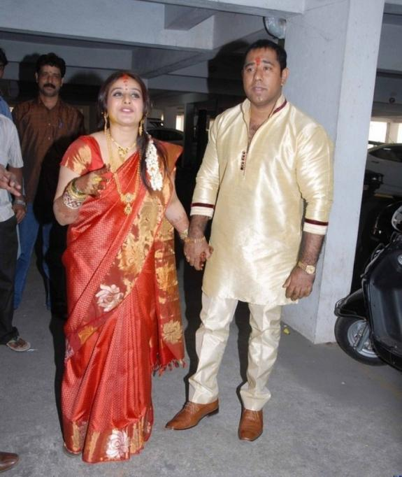 Pooja And Anand Photo Clicked On Their Engagement Function