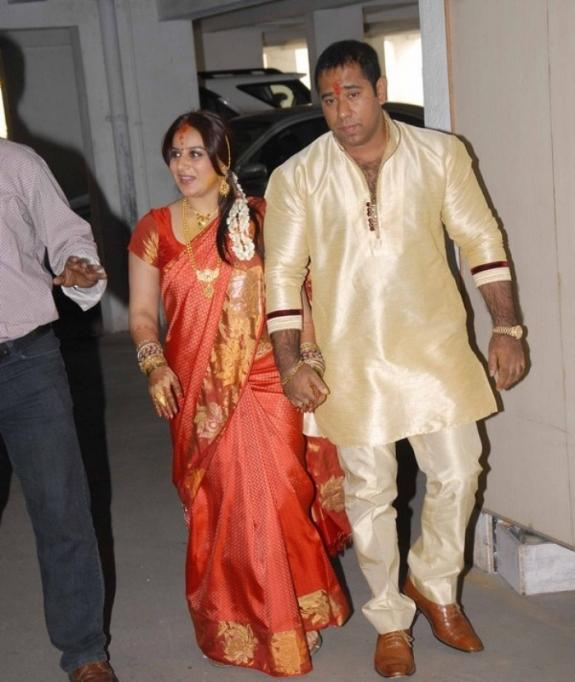Pooja And Anand Spotted On Their Engagement Function
