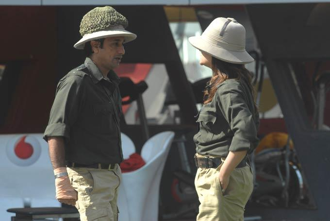 Rajev And Urvashi Look Like Perfect Shikari On Day 44 In Bigg Boss 6