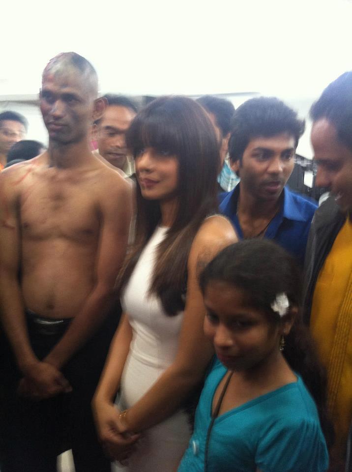 Priyanka Chopra Snapped At Apollo Hospital