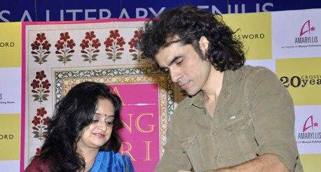 Imtiaz And Chandrima Launced 'A Song for I' Novel At Crossword Book Store