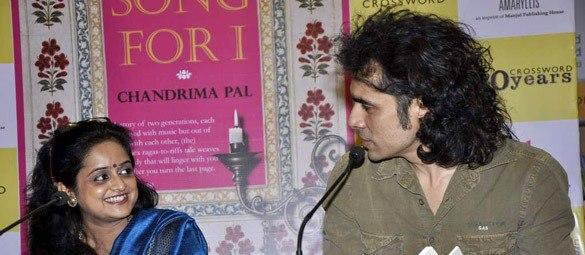 Imtiaz And Chandrima Photo Cliked At  'A Song for I' Novel Launch Event
