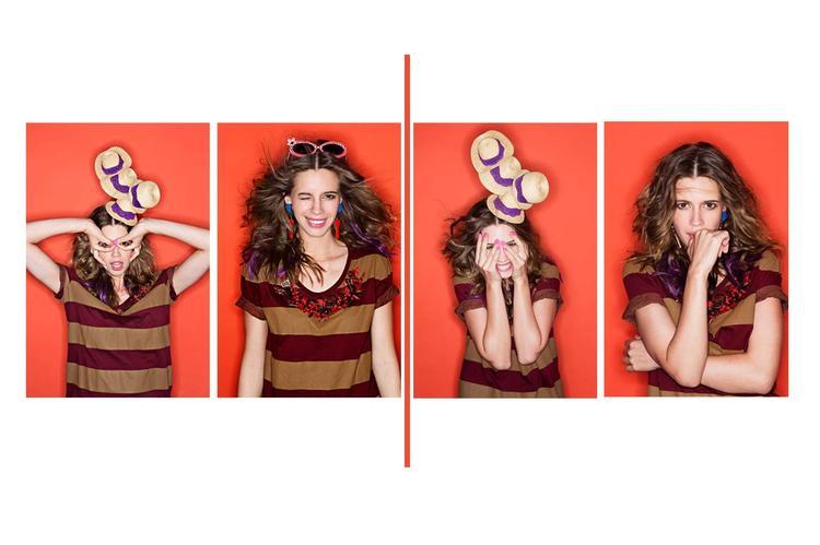 Kalki Koechlin Different Expression Photo For Vogue India