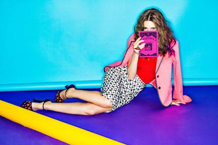 Kalki Koechlin Glamorous Look Photo Shoot In Mini Dress For Vogue India