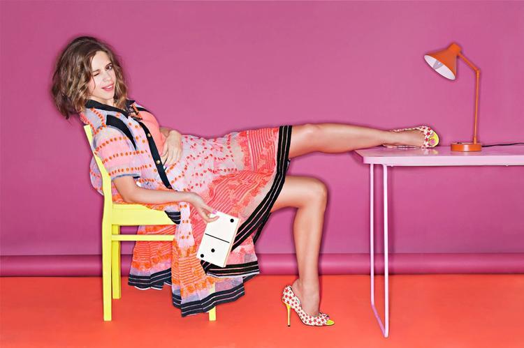 Kalki Koechlin Sexy Legs Show Photo Shoot For Vogue India