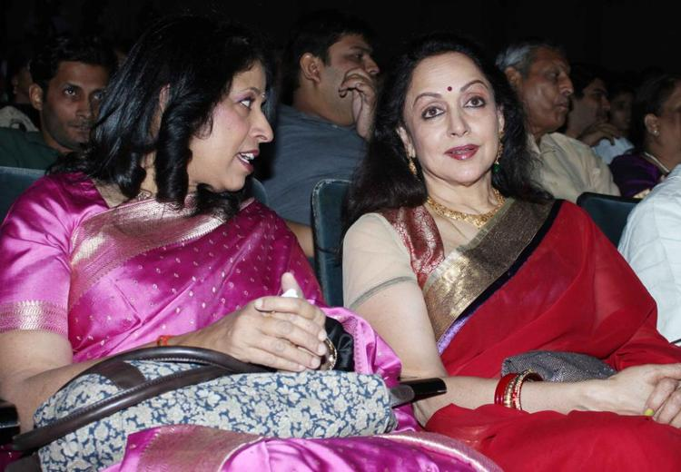 Kavita And Hema Graced The Felicitation Of Lyricist Ravindra Jain