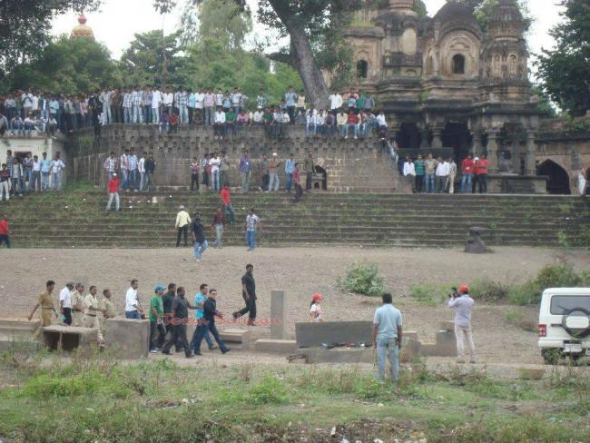 The Crowds Photo Clicked On The Sets Of Dabangg 2
