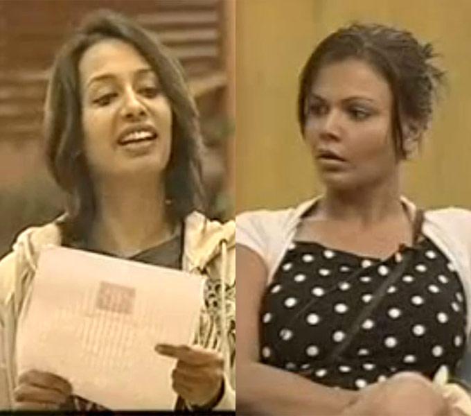 Clash Of Item Girls Kashmeera And Rakhi On Bigg Boss Season One