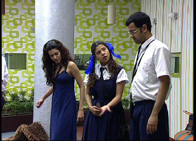 Rahul,Sambhavana And Payal Photo From Bigg Boss 2