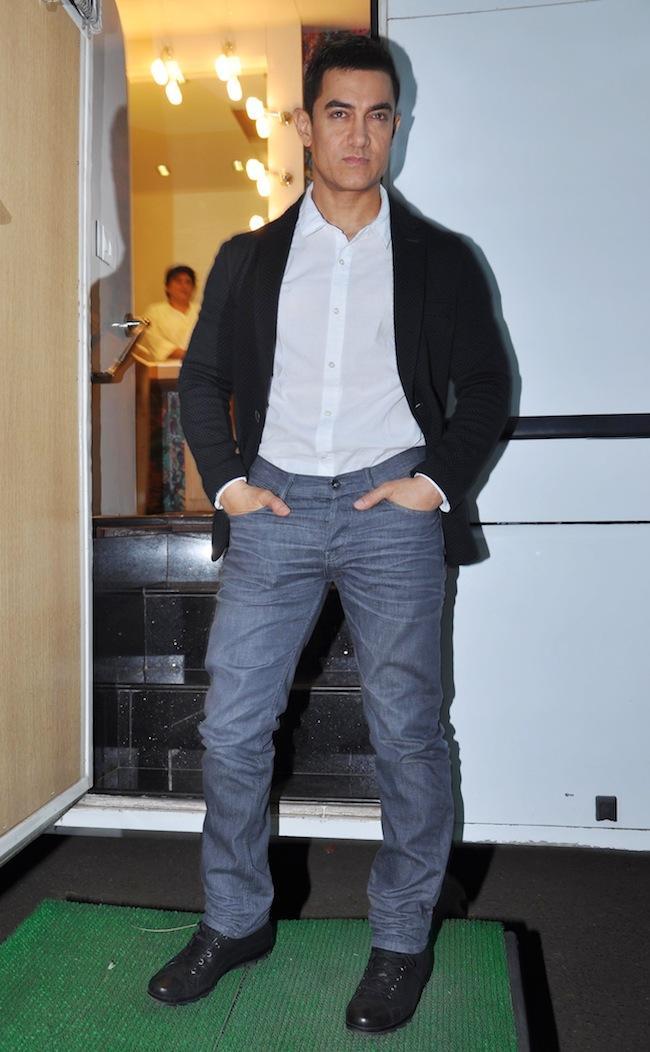 Aamir Khan Dashing Look Still On The Sets Of Yeh Rishta Kya Kehlata Hai