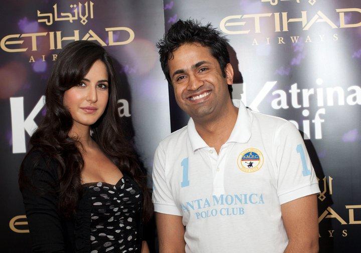 Katrina Kaif And Asjad Nazir Cute Smiling Still