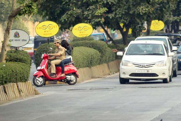 Shahid And Ileana Photo On Shooting Location Of Phata Poster Nikla Hero