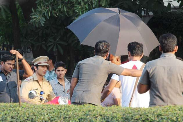 Shahid Photo Clicked On Shooting Location Of Phata Poster Nikla Hero