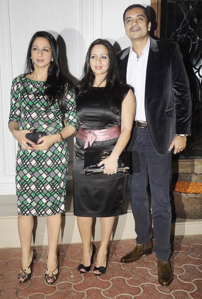 Celebs At Shilpa Shetty's Bash For Shane Warne And Liz Hurley
