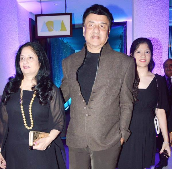 Anu Malik With Family Attend The Sun N Sand Golden Jubilee Function